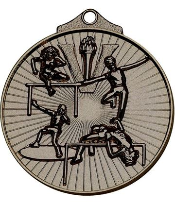"Bronze Horizon Athletics Track & Field Medal 52mm (2"")"