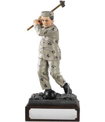 """Addicted to Golf Life Member - Novelty Figure 21cm (8.25"""")"""