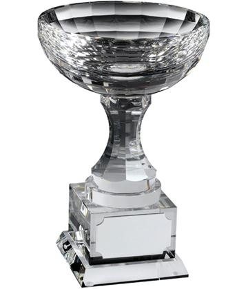 "Optical Crystal Trophy Cups 14cm (5.5"")"