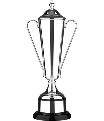 """Silver Plated Conical Presention Cup with Lid 42cm (16.5"""")"""