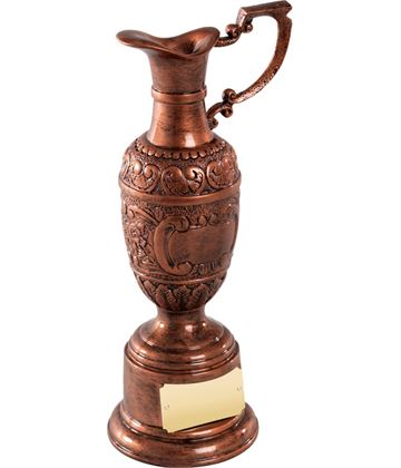 "Resin St Anne's Award in Olde English Copper Finish 21.5cm (8.5"")"