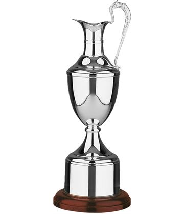"Silver Plated Golf Champions Claret Award 46.5cm (18.25"")"