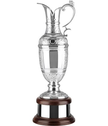 "Golf Champions Silver Plated Hand Chased Claret Jug 46.5cm (18.25"")"