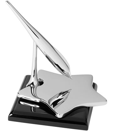 "Star Shaped Business Card Holder with Spinning Pen 9.5cm (3.75"")"