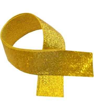 """Gold Glitter Medal Ribbon 76cm (30"""")"""