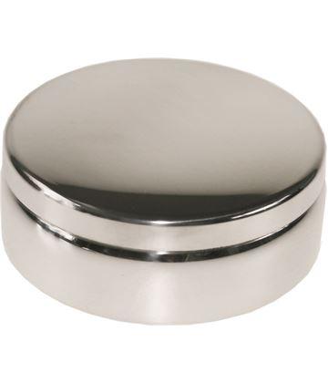 "Plain Round Trinket Box 6cm (2.5"")"