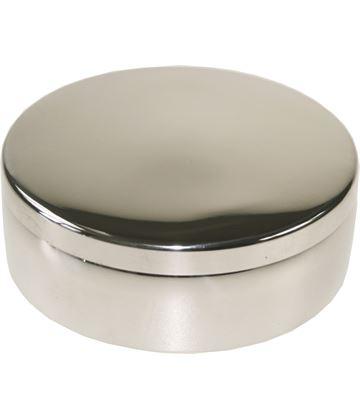 "Plain Round Trinket Box 8cm (3"")"