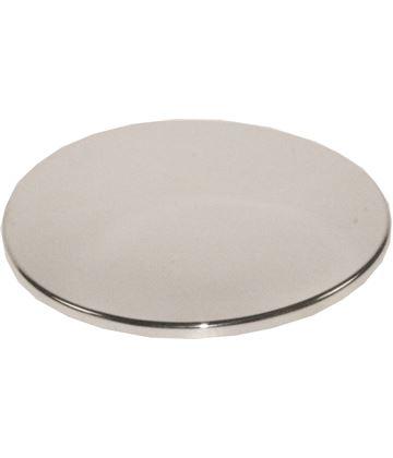 """Plain Round Engravable Coaster 9cm (3.5"""")"""