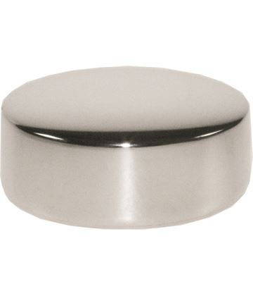 """Engravable Pewter Round Paperweight 2.5cm (1"""")"""