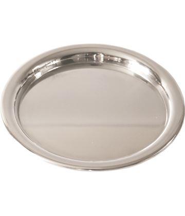 "Plain Round Engravable Tray 17cm (6.75"")"
