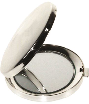 """Oval Shaped Compact Mirror 5cm (2"""")"""