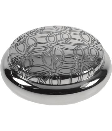 "Pewter Georgian Trinket box with a Triquetra Design 8.5cm (3.25"")"