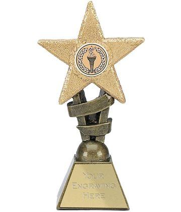 "Multi Awards Star Design 12cm (4.75"")"
