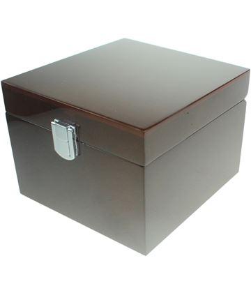 Wooden 1pt Tankard Presentation Box with Velvet Lining 13cm x 17cm x 18.5cm