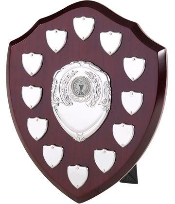 "Perpetual Value Presentation Shield 25.5cm (10"")"