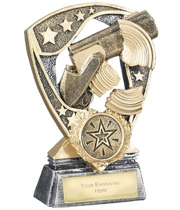 "Challenger Shield Clay Shooting Award 12cm (4.75"")"