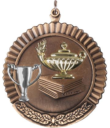 "Bronze Knowledge Medal 50mm (2"")"