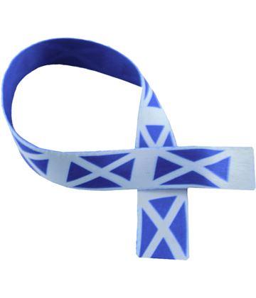 "Scottish Flag Print Medal Ribbon 76cm (30"")"
