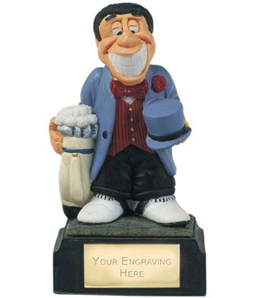 """Married To Golf - Novelty Golf Figure 10cm (4"""")"""