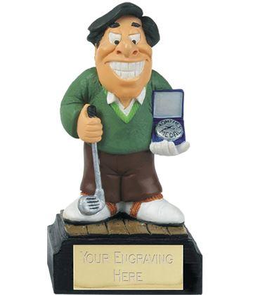 """Monthly Medal - Novelty Golf Figure 10cm (4"""")"""