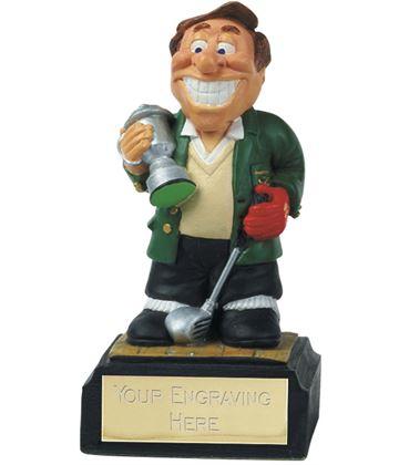 """Golf Winner - Novelty Golf Figure 10cm (4"""")"""