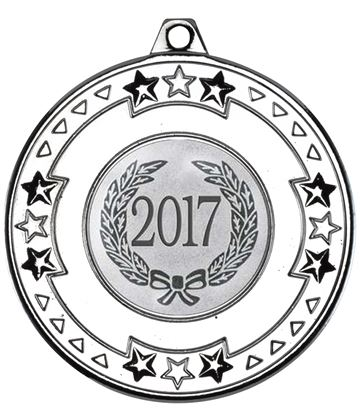 "2017 Silver Star & Pattern Medal 50mm (2"")"