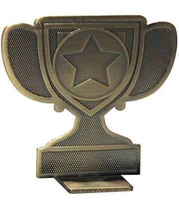 "Achievement Cup Self Standing Medal Bronze 60mm (2.25"")"