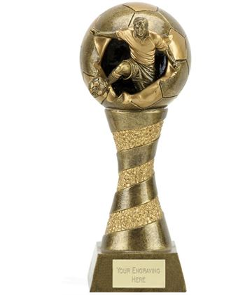 "Xplode 3D Football Trophy 20.5cm (8"")"
