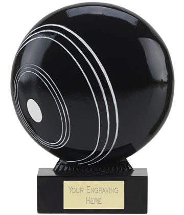 "The Ball Lawn Bowls Trophy 14.5cm (5.75"")"