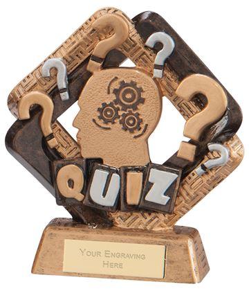 "Sporting Unity Quiz Award 13.5cm (5.25"")"