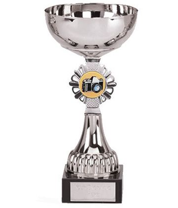 """Silver Photography Presentation Cup 20.5cm (8"""")"""