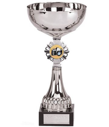 """Silver Photography Presentation Cup 21.5cm (8.5"""")"""