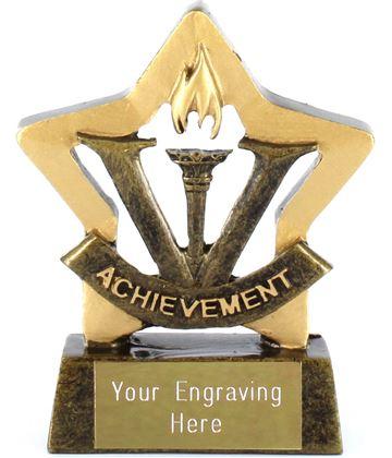 "Mini Stars Achievement Award Trophy 8.5cm (3.25"")"