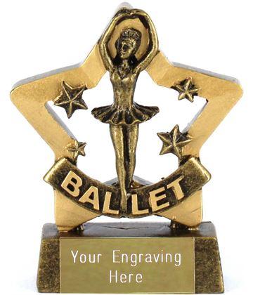 """Mini Stars Ballet Award 8.5cm (3.25"""")"""