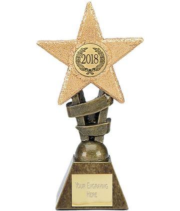 """2018 Multi Award Star Trophy 17cm (6.75"""")"""