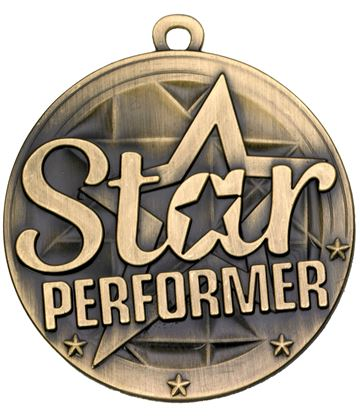 "Star Performer Gold Medal 50mm (2"")"