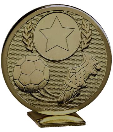 """Bronze Global Boot & Ball Self Standing Award 60mm (2.25"""")"""