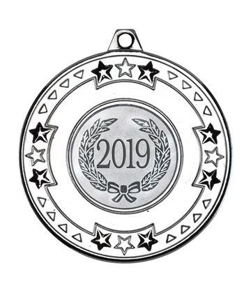 "2019 Silver Star & Pattern Medal 50mm (2"")"
