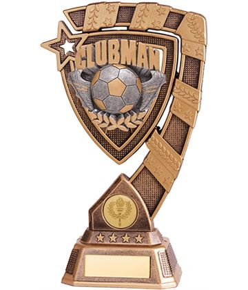 "Euphoria Clubman Football Trophy 13cm (5"")"