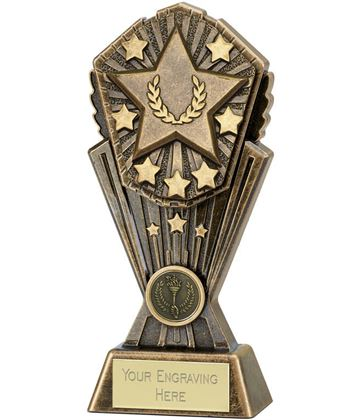 "Cosmos Multi Award Star Trophy 17.5cm (7"")"