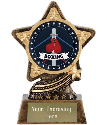 """Boxing Trophy by Infinity Stars 10cm (4"""")"""