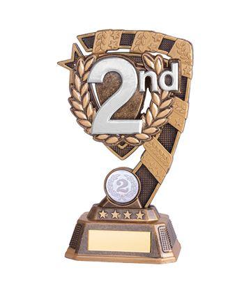 "Euphoria 2nd Place Trophy 18cm (7"")"