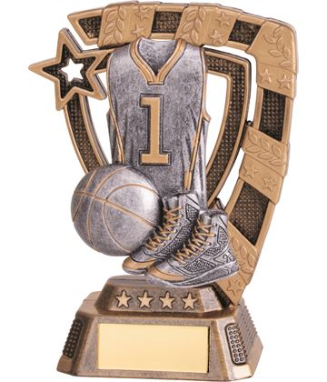 "Euphoria Basketball Trophy 13cm (5"")"