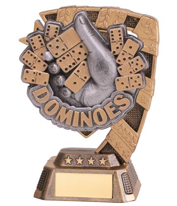 "Euphoria Dominoes Trophy 13cm (5"")"
