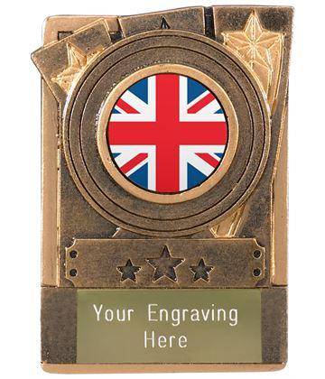 "Union Jack Flag Fridge Magnet Award 8cm (3.25"")"
