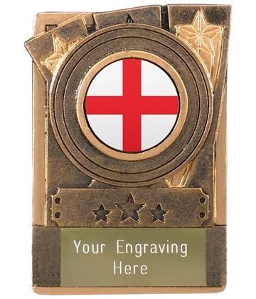 "English Fridge Magnet Award 8cm (3.25"")"