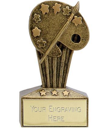 "Micro Trophy Art Award 7.5cm (3"")"