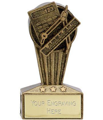 "Micro Trophy Mathematics Award 7.5cm (3"")"