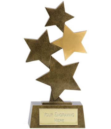 "Starburst Resin Multi Award 29cm (11.5"")"