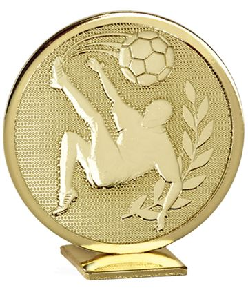 "Gold Global Football Self Standing Award 60mm (2.25"")"